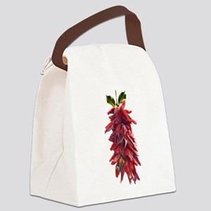 Southwest Mistletoe - Chile Peppe Canvas Lunch Bag