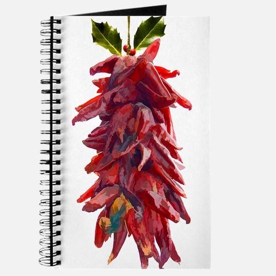 Southwest Mistletoe - Chile Pepper Ristra Journal