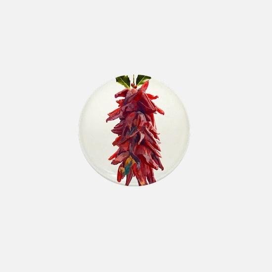 Southwest Mistletoe - Chile Mini Button (10 pack)