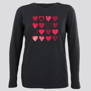Hearts Women's Dark T-Shirt