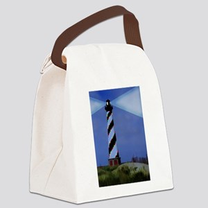 Cape Hatteras Light House with Ch Canvas Lunch Bag