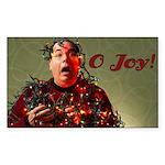 O Joy! Rectangle Sticker