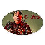 O Joy! Oval Sticker