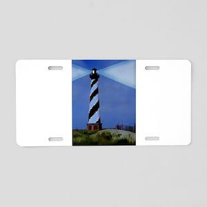 Cape Hatteras Light House w Aluminum License Plate