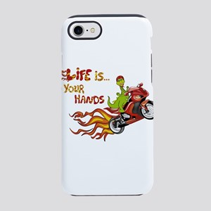 dragon life is in your hands iPhone 8/7 Tough Case