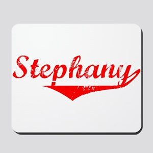 Stephany Vintage (Red) Mousepad