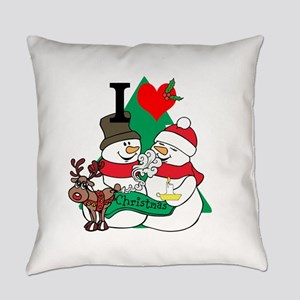 Smelling Deer Fart Everyday Pillow