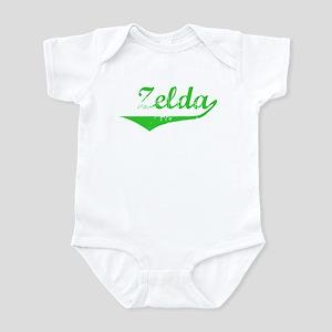Zelda Vintage (Green) Infant Bodysuit