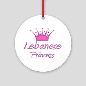 Lebanese Princess Ornament (Round)