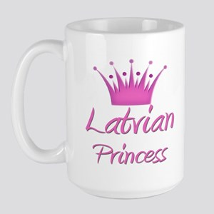 Latvian Princess Large Mug