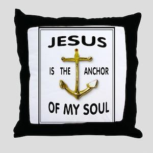 SOUL ANCHOR Throw Pillow