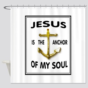 SOUL ANCHOR Shower Curtain