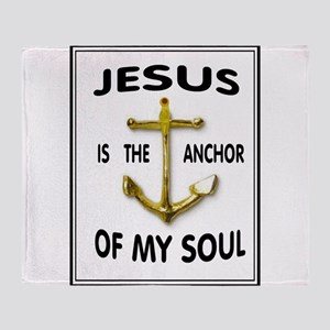 SOUL ANCHOR Throw Blanket