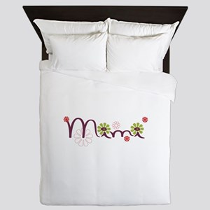 Mimi Flowers Queen Duvet