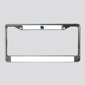 Wolf Silhouette License Plate Frame