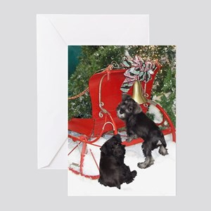 Schnauzer Christmas Greeting Cards (Pk of 20)