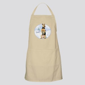 Airedale Noel BBQ Apron