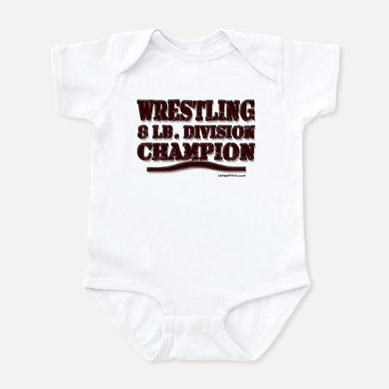 WRESTLING 8 LB. CHAMPION Infant Bodysuit