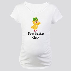 New Mexico Chick Maternity T-Shirt