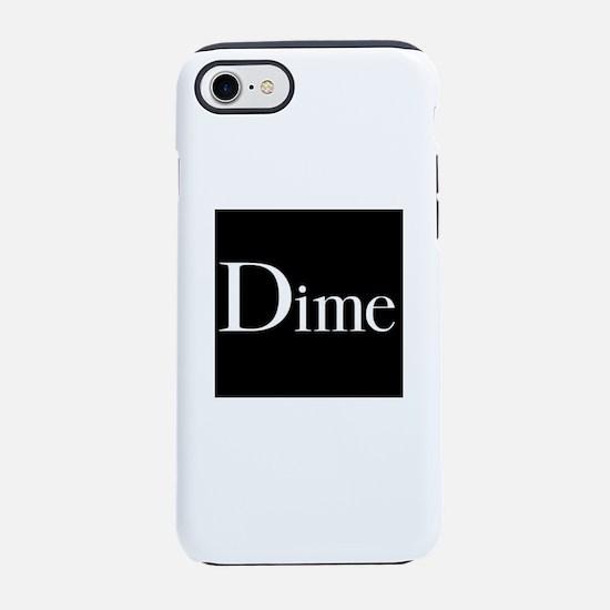 dime skateboarding shirt iPhone 8/7 Tough Case