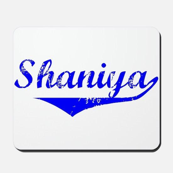 Shaniya Vintage (Blue) Mousepad