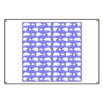 Polar Bear Pattern Banner