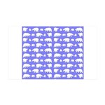Polar Bear Pattern Wall Decal