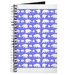 Polar Bear Pattern Journal