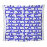 Polar Bear Pattern Wall Tapestry