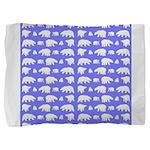 Polar Bear Pattern Pillow Sham