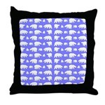 Polar Bear Pattern Throw Pillow