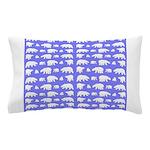 Polar Bear Pattern Pillow Case