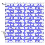 Polar Bear Pattern Shower Curtain
