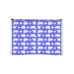 Polar Bear Pattern Makeup Bag