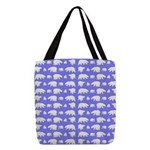 Polar Bear Pattern Polyester Tote Bag