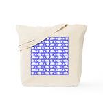 Polar Bear Pattern Tote Bag