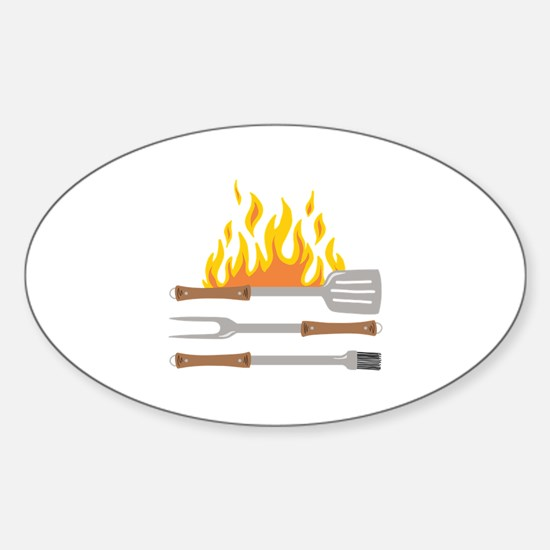 Grill Tools Decal