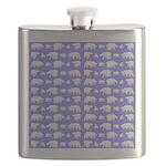Polar Bear Pattern Flask