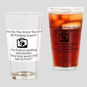 3D Expert Drinking Glass