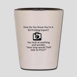 3D Expert Shot Glass