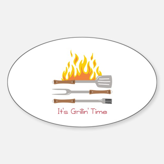 Grillin Time Decal