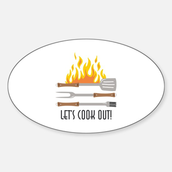 Cook Out Decal