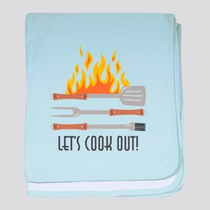 Cook Out baby blanket