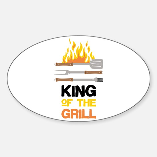 King Of Grill Decal
