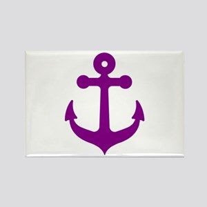 Purple Anchor Magnets