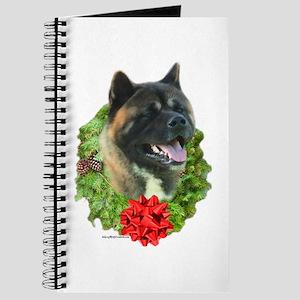 Akita Wreath Journal