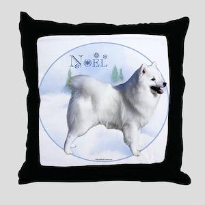 Eskimo Noel Throw Pillow