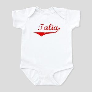 Talia Vintage (Red) Infant Bodysuit
