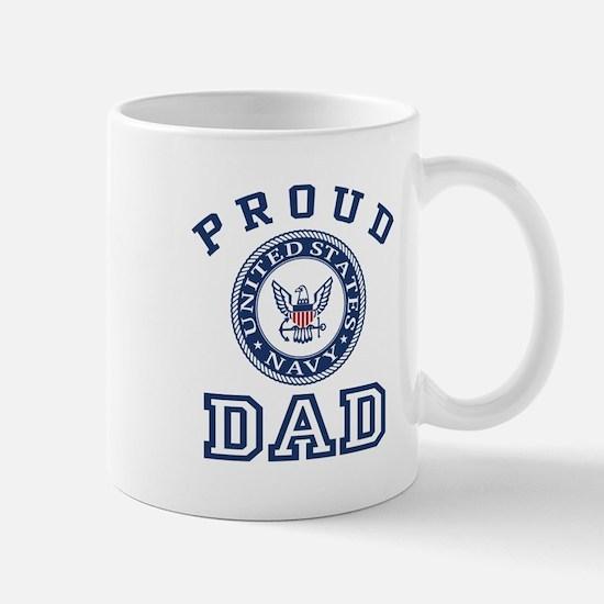 Proud US Navy Dad Mug