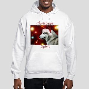 Malamute Spirit Hooded Sweatshirt